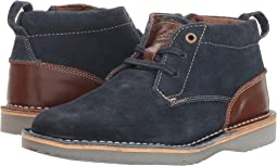 Navy Suede/Brown