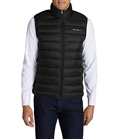 Eddie Bauer Cirruslite Down Vest (Black 1) Men
