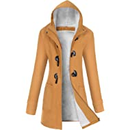 VOGRYE Womens Winter Fashion... VOGRYE Womens Winter Fashion Outdoor Warm Wool Blended Classic Pea Coat Jacket (FBA)