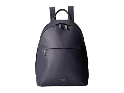 Lipault Paris Plume Elegance Round Backpack S (Navy) Backpack Bags