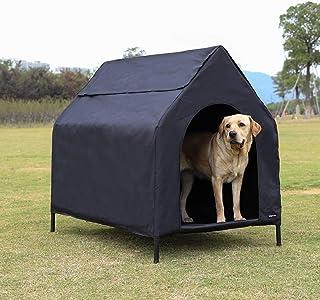 AmazonBasics - Caseta para mascotas, elevada, portátil,