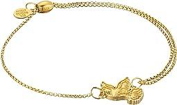 Dove Pull Chain Bracelet - Precious Metal