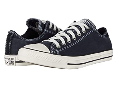 Converse Chuck Taylor All Star Ox (Dark Navy/Egret/Black) Lace up casual Shoes