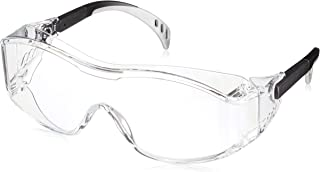 ミドリ安全 保護めがね ビジョンベルデ オーバーグラス対応 両面防曇加工 レンズカラー : クリア MP960