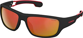 Carrera 4008/s Rectangular Sunglasses, MTT Black, 60 mm