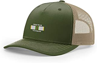 Cold War Veteran Ribbon Embroidered Richardson Hat