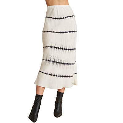 bella dahl Bias Midi Skirt (Moonstone) Women