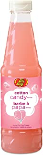Jelly Belly JB15527 Cotton Candy Syrup Adds Flavor to Snow Cones Slushies and Ice Pops for a Fun and Delicious Treat, 16-Ounce