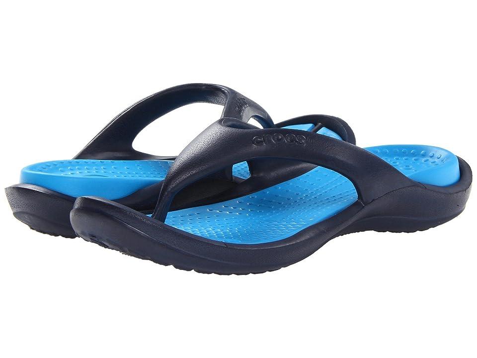 Crocs Athens (Navy/Ocean) Sandals