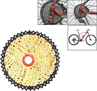 LIDAUTO MTB Cycling Freewheel Bicycle Sprocket Wheel Bike Cassettes Freewheels Wide Ratiof Compatible with Shimano, SRAM 11 Speed,11-46T
