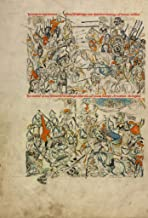 Manuscripts Poster - The Battle of Liegnitz; The Beheading of Heinrich and His Soul Carried by Angels to Heaven, 24