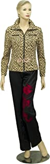 Women's Light Yellow Fashion Jackets (Spring/Fall) Size L