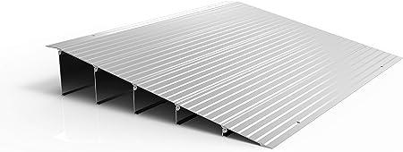 EZ-Access 过渡模块化铝制入口坡道,6 英寸(约 15.2 厘米)直裆