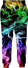 Leapparel مردان / زنان شلوار شلوار سه بعدی شلوار شلوار ورزشی پیراهن کش ورزش ، پیراهن کش ورزش (Baggy)