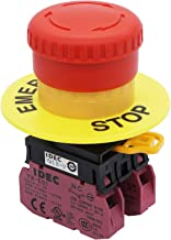 Best mushroom emergency stop button switch Reviews