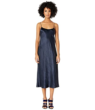 Vince Slip Dress (Coastal Blue) Women