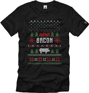 Bacon Love Speck gris kött kärlek BBQ röker T-shirt #36059