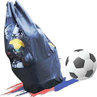 Extra Large Ball Bag, Heavy Duty Mesh Soccer Ball Bag,Heavy Duty Drawstring Bags Hold Equipment for Basketball, Volleybal...