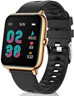 CanMixs Smart Watch for Android Phones iOS Waterproof Smart Watches for Women Men Sports Digital...