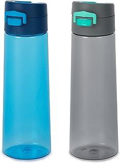 featured product GoBottle 40250 Flippin' Lockin' Lid, Leak Proof, BPA Free Water Bottle, 32oz, 2-Pack