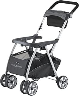 Chicco KeyFit and Fit2 Car Seat Compatible Caddy Baby Stroller Frame, Black