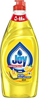 Joy Concentrated Dishwashing Liquid, Refreshing Lemon, 500ml
