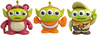 Pixar Alien Remix Lotso Nemo Russell 3-Pack Character Figures in a Pizza Box Package, 3-in (7.6-cm) to 3.2-in (8.1-cm) Toys from Disney and Pixar Movies Toy Story Finding Nemo Up, Gift for Collectors