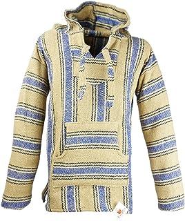 Funny Guy Mugs Premium Baja Hoodie Sweatshirt Pullover Jerga Poncho