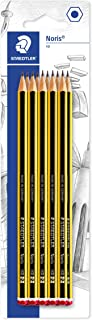 Staedtler Noris 120 HB Pencil, Double Stacked, Pack of 10