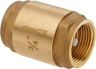 EZ-FLO 20403LF Brass In-Line Check Valve