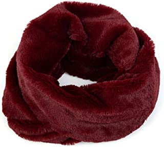 Winter Warm Fuax Fur Infinity Cowl Scarf Various Styles and Colors