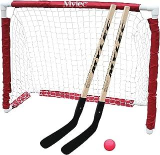 Mylec Jr. Hockey Goal Set, White