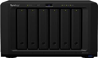 "Synology DiskStation DS1621xs+ 6-Bay + 2xNVMe, 3.5"""" Diskless, 2xGbE + 1x10GbE, Intel Xeon 4 core, 8GB RAM, 5 Yr Wty, Black"