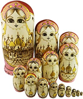 Best 15 piece russian dolls Reviews