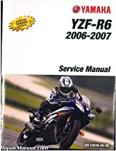 LIT-11616-19-78 2006-2007 Yamaha YZF-R6 600cc Motorcycle Service Manual