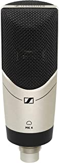 Sennheiser MK 4 Professional quality cardioid Large Diaphragm Condenser Microphone for home, project, and professional stu...