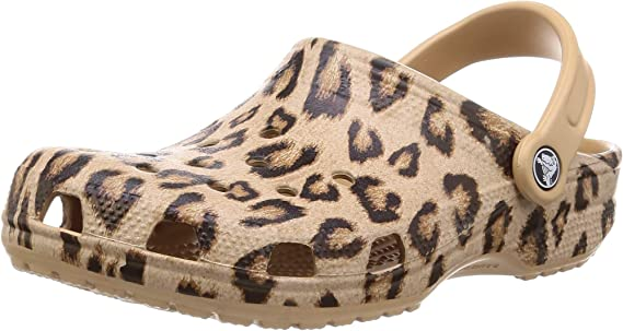 Crocs Women's Classic Animal Print Clog