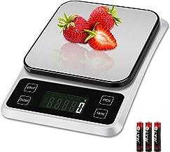 Zorara Balance Cuisine, 5kg/1g Balance de Cuisine, Balance Cuisine Electronique avec Fonction Tare, Balance Alimentaire, B...