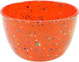 Zak Designs 0828-0323 Confetti Salad Bowl, 13 cm, - Orange