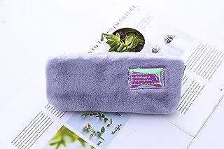 Estuches purple1pcs Kawaii Estuche de lápices Chica de peluche Caja de lápices de la escuela Estuche con lápices Bolsa de ...