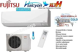 fujitsu heat pump thermostat