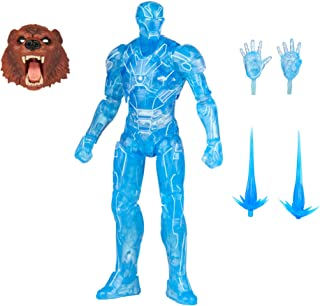 Hasbro Marvel Legends Series 6-inch Hologram Iron Man Action Figure Toy, Premium Design and Articulation Includes 2 Access...