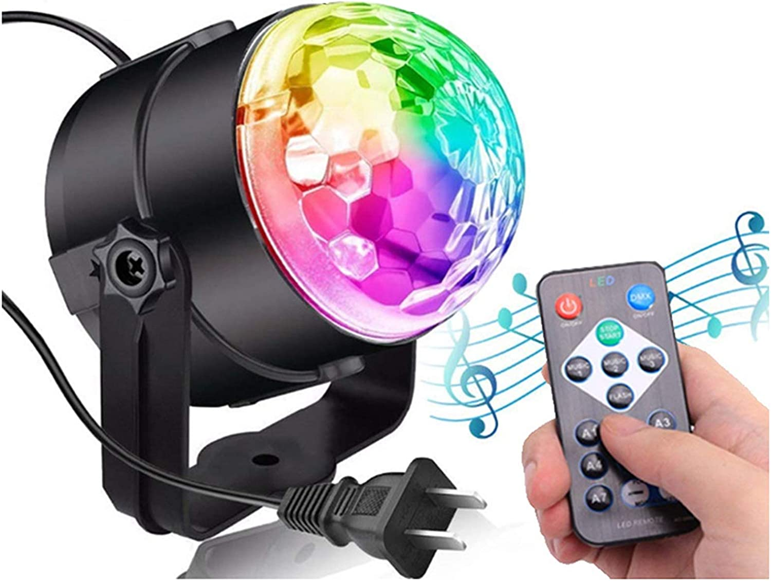 BZGKNUL Disco Lights with Remote Christmas for New Free Shipping Lighting and Dj Sale Special Price