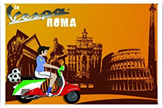 Vespa Scooter Roma Football 7.8
