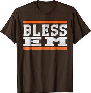 Cleveland Football Bless Em Sports TShirt