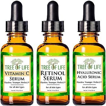 【日本初上陸】トゥリー オブ ライフビューティー《海外コスメ 正規品》「セラム 3パック」Retinol Serum&Vitamin C Serum&Hyaluronic Acid Serum 「Serum 3-Pack」 [美容液]