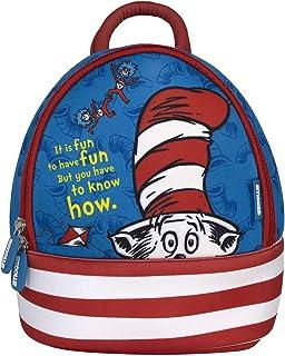 Kids Backpack Pre School Day Care Travel semi Water Proof racksack Bag Dr Seuss Cat in The Hat