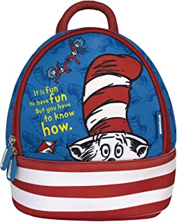 Kids Backpack Pre School Day Care Travel semi Water Proof racksack Bag Dr Seuss Cat in The Hat