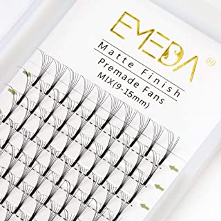 EMEDA wimper extensions 6D 0,10mm D curl volume wimpers 9mm 12mm 15mm mix Russische cluster wimpers 3D .10mm Volume eyelas...