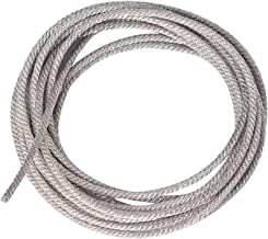 32 Strands High Temperature Resistant Twisted Silver Wire Speaker Lead Wire Repair(2 m)